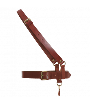 Leather cross strap by Dukes for Lena Hoschek in