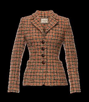 Byron Jacket winter check by Lena Hoschek - AW21/22 autumn/winter collection - Biedermeier