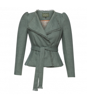 Carl Jacket Salbei in green - SS21 summer collection - Lena Hoschek Tradition