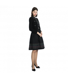 Lena Hoschek Tradition Dress in black - Autumn Winter 2019 collection