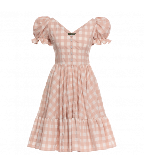 """Hannerl"" dress in picnic rose by Lena Hoschek - Season of the  Witch - SS20 summer collection"