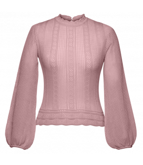Affaire Knitted Top lavande by Lena Hoschek - SS21 summer collection - Antoinette's Garden