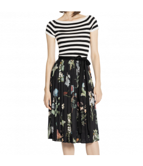 Lena Hoschek Botany skirt flowers black - Season of the Witch - SS20 - FS20 - Lena Hoschek Botany Rock Schwarz mit Blumen