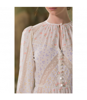 C'est La Vie Dress by Lena Hoschek - SS21 summer collection - Antoinette's Garden