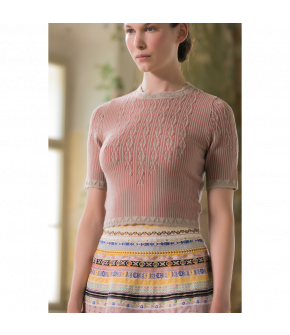 Enchanté Knitted Top tendre amour by Lena Hoschek - SS21 summer collection - Antoinette's Garden