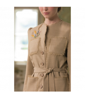 Promenade Jacket with floral print by Lena Hoschek - SS21 summer collection - Antoinette's Garden