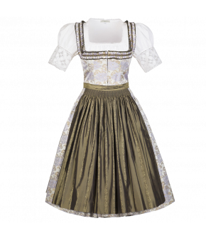 """Linde"" dirndl by Lena Hoschek Tradition - Summer collection 2015"