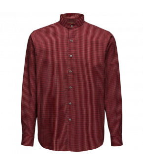 "Men´s shirt with long sleeves by Lena Hoschek for AW18/19 ""Wintergarden"" collection."