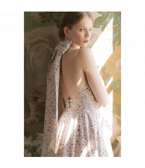 Mille Fleurs Dress with floral print by Lena Hoschek - SS21 summer collection - Antoinette's Garden