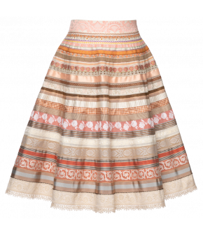 Original Ribbon Skirt éclaire by Lena Hoschek - SS21 summer collection - Antoinette's Garden