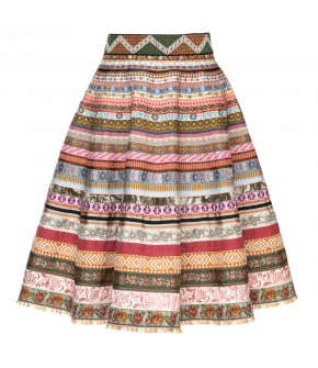 Original Ribbon Skirt jardin by Lena Hoschek - SS21 summer collection - Antoinette's Garden