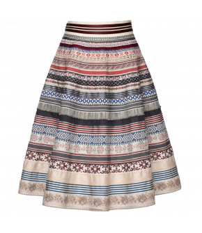 Original Ribbon Skirt paysanne by Lena Hoschek - SS21 summer collection - Antoinette's Garden