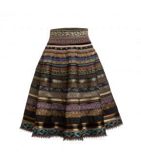 "Original ribbon skirt ""royalty"" by Lena Hoschek - Artisan Partisan - Autumn/winter collection AW20/21"