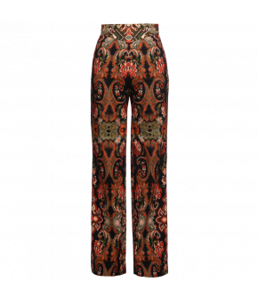 """Riad"" pants by Lena Hoschek - Artisan Partisan - Autumn/winter collection AW20/21"