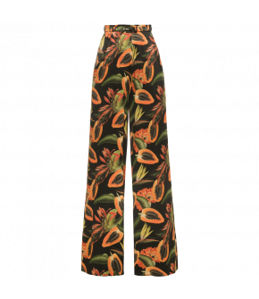 Rio Pants papaya black by Lena Hoschek - Marlene trousers - Tutti Frutti Spring / Summer 2019