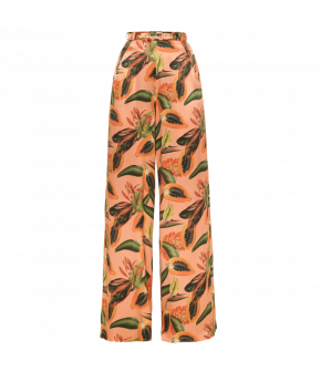 Rio Pants papaya sorbet by Lena Hoschek - Wide trousers - Tutti Frutti Spring / Summer 2019
