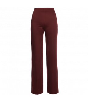 """Ritual"" pants in red by Lena Hoschek - Artisan Partisan - Autumn/winter collection AW20/21"
