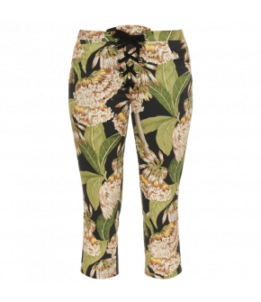 Tico-Tico Pants tropical tan by Lena Hoschek - Capri-Pants - Tutti Frutti Spring / Summer 2019