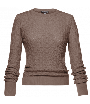 Lena Hoschek Pullover Louise in beige - SS20 - Season of the Witch - Summer 2020