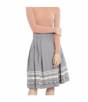 Lena Hoschek Pullover Louise in old rose - SS20 - Season of the Witch - Summer 2020