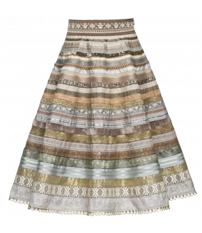 "Ribbon skirt by Lena Hoschek in ""goldmine"""