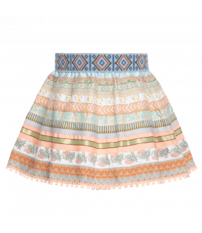 "Lena Hoschek mini ribbon skirt ""sunset"" - Season of the Witch - SS20 - summercollection 2020"