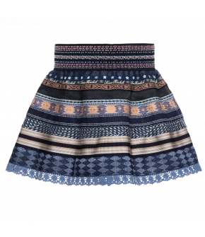 "Lena Hoschek mini ribbon skirt ""twilight"" - Season of the Witch - SS20 - summercollection 2020"
