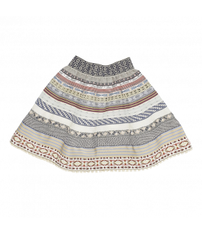 Ribbon Skirt Mini in the colour