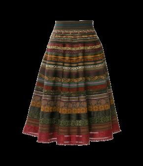 Original Ribbon Skirt potpourri by Lena Hoschek - AW21/22 autumn/winter collection - Biedermeier