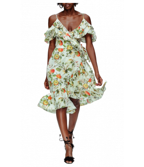 Telenovela Dress by Lena Hoschek - Wrap dress - Tutti Frutti Spring / Summer 2019