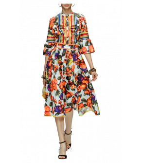 Fruit Salad Dress by Lena Hoschek - Tutti Frutti Spring / Summer 2019