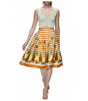 Ipanema Skirt pineapple by Lena Hoschek - Tutti Frutti Spring / Summer 2019