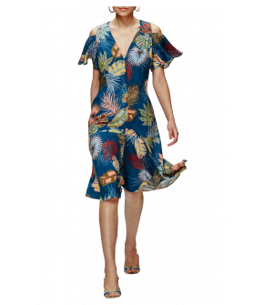 Juanita Dress hurricane with belt by Lena Hoschek - Tutti Frutti Sprint / Summer 2019