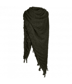 Wally Scarf Jäger in green by Lena Hoschek Tradition - AW21/22 autumn/winter collection