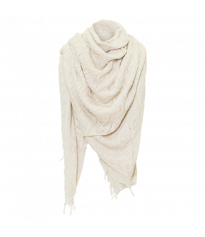 Wally Scarf natural white - Lena Hoschek Traditon