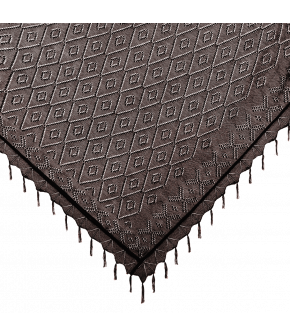 Wally Scarf Waldweg in brown by Lena Hoschek Tradition - AW21/22 autumn/winter collection