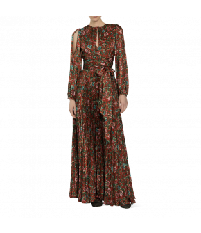 """Sherazade"" dress by Lena Hoschek - Artisan Partisan - Autumn/winter collection AW20/21"