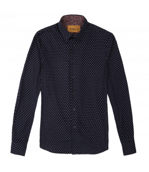 """Costello shirt polka dot"" by Lena Hoschek - Artisan Partisan - Autumn/winter collection AW20/21"