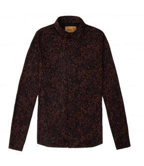 """Luke shirt tundra"" by Lena Hoschek - Artisan Partisan - Autumn/winter collection AW20/21"