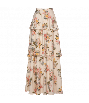 Lena Hoschek Age of Innocence skirt spring - Season of the Witch - FS20 - SS20 - Lena Hoschek Age of Innocence Rock Weiß