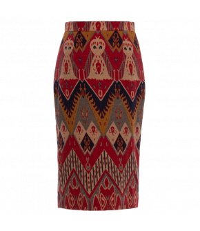 "Patterned pencil skirt by Lena Hoschek ""Artisan"""