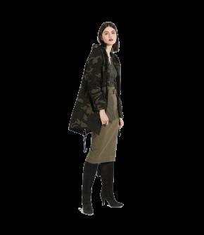 "Camouflage parka by Lena Hoschek ""Gallagher Parka camouflage"""