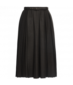 """Betty skirt cedar"" by Lena Hoschek - Artisan Partisan - Autumn/winter collection AW20/21"