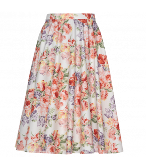 Lena Hoschek Catherine skirt pink peony - Season of the Witch - SS20 - FS20 - Lena Hoschek Catherine Rock Weiß