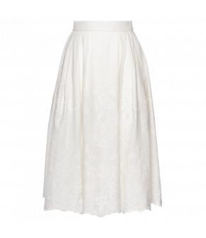 Dessert Skirt in white by Lena Hoschek - SS21 summer collection - Antoinette's Garden