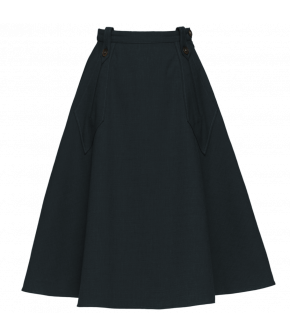 "Flared skirt with diamond shaped pockets by Lena Hoschek ""Glenn Skirt business"""