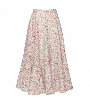 Mille Fleurs Skirt with flowers by Lena Hoschek - SS21 summer collection - Antoinette's Garden