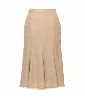 Promenade Skirt in beige by Lena Hoschek - SS21 summer collection - Antoinette's Garden