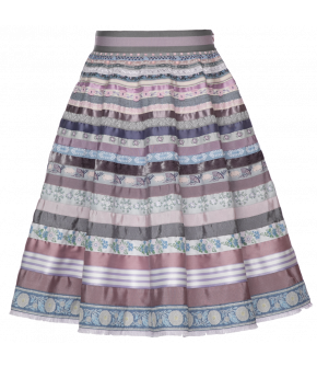 Lena Hoschek Ribbon Skirt bellflower - SS20 - Season of the Witch - FS20 - Lena Hoschek Bänderrock bellflower