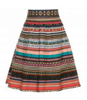 Ribbon Skirt club tropicana by Lena Hoschek - Tutti Frutti Spring / Summer 2019